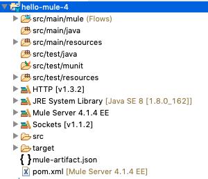 mule-4-app-structure